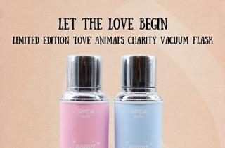 Let the Love Begin. SPCA x Camel Limited Edition 'Love' Animals Charity Vacuum Flask