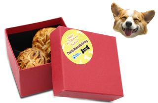 Three Dog Bakery x SPCA Charity Mooncakes for Cats & Dogs