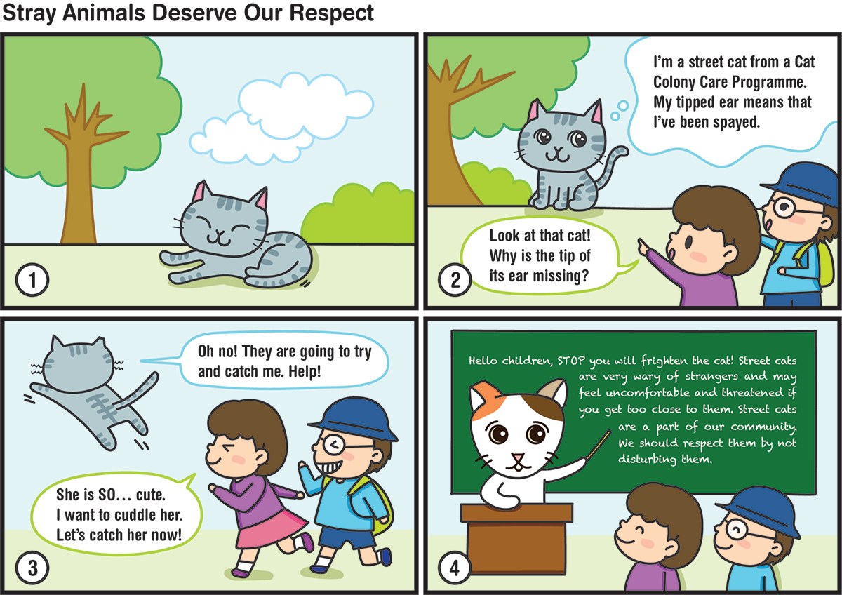 Edu pawprint comic ENG A Pet is a Friend for Life July